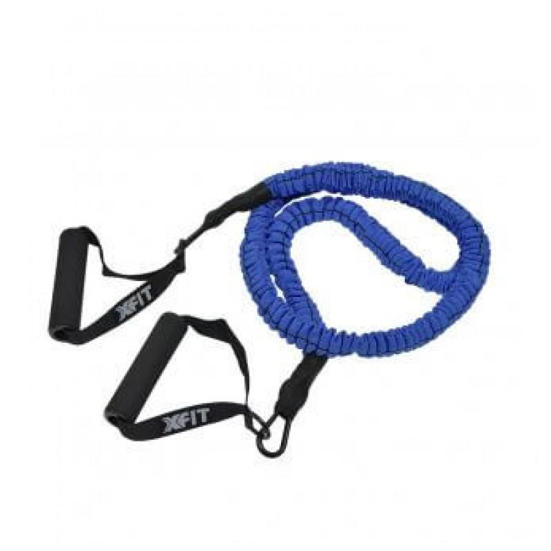 Λάστιχο Ασκήσεων με Λαβές και Προστατευτική Επένδυση Latex High End Tube 150cm